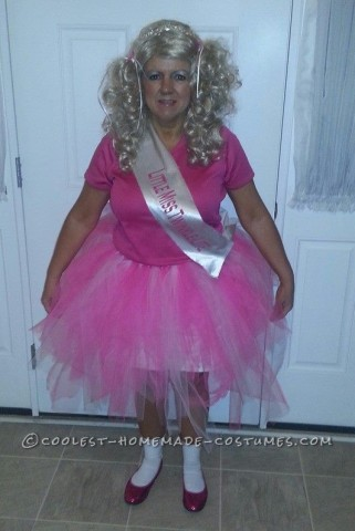 Funny Homemade Toddlers and Tiara's Halloween Costume for a Granny