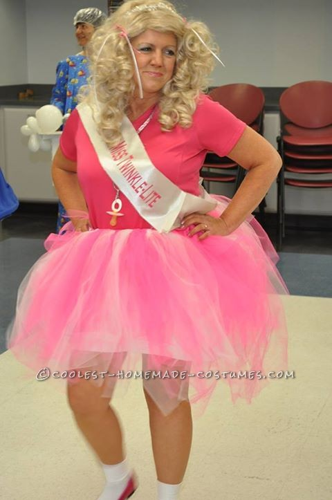 Funny Homemade Toddlers and Tiara's Halloween Costume for a Granny - 1