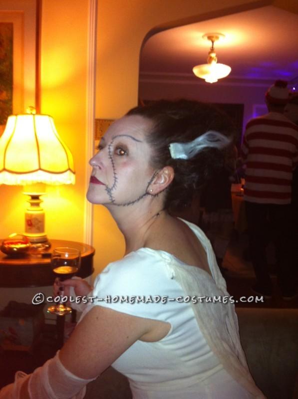 Bride of Frankenstein Costume for $10