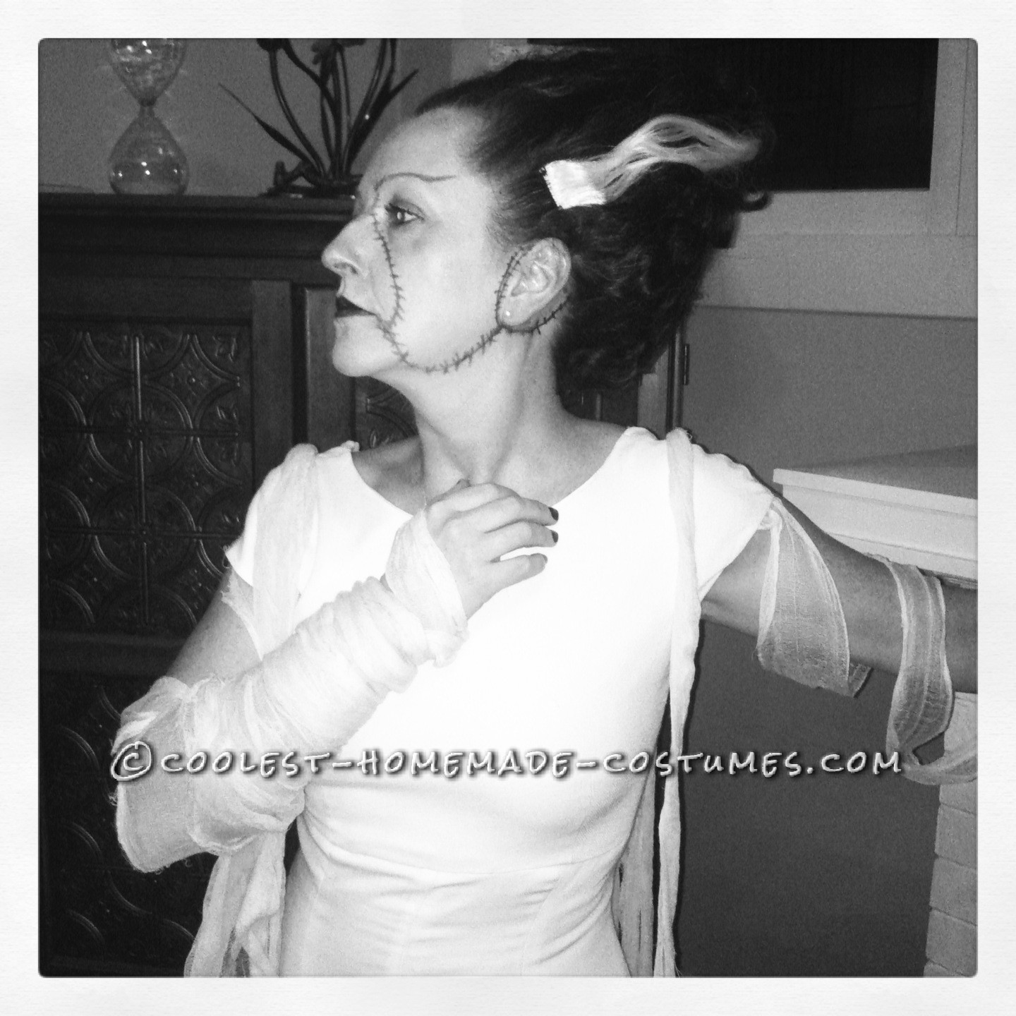 Bride of Frankenstein Costume for $10