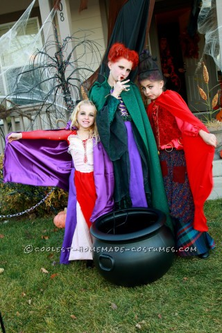 Cute Hocus Pocus Girl's Group Costume