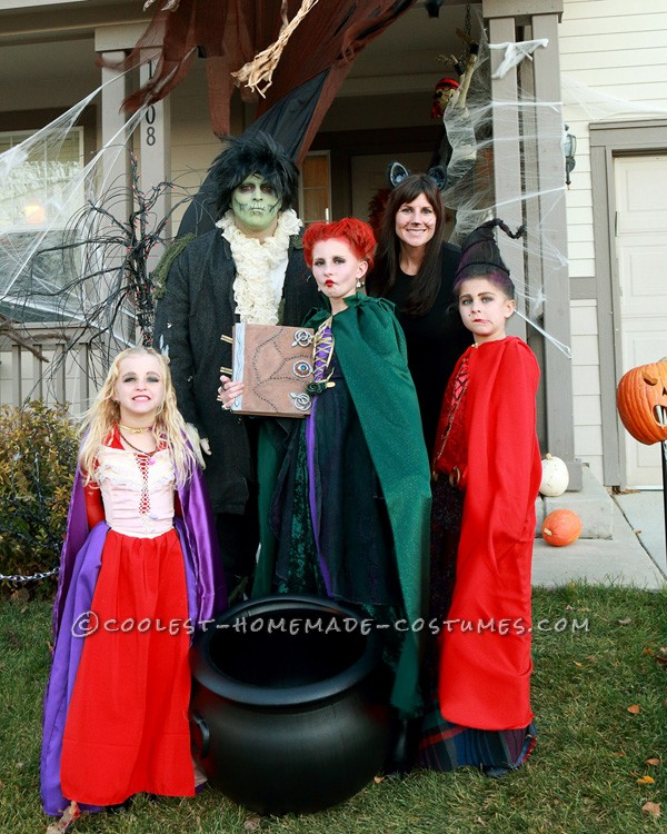 Sanderson sisters billy, and Binx the cat
