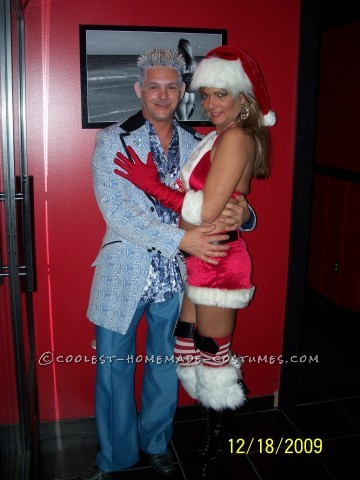 Jack Frost and Mrs. Clause Couple Costume (The Ultimate Affair!)