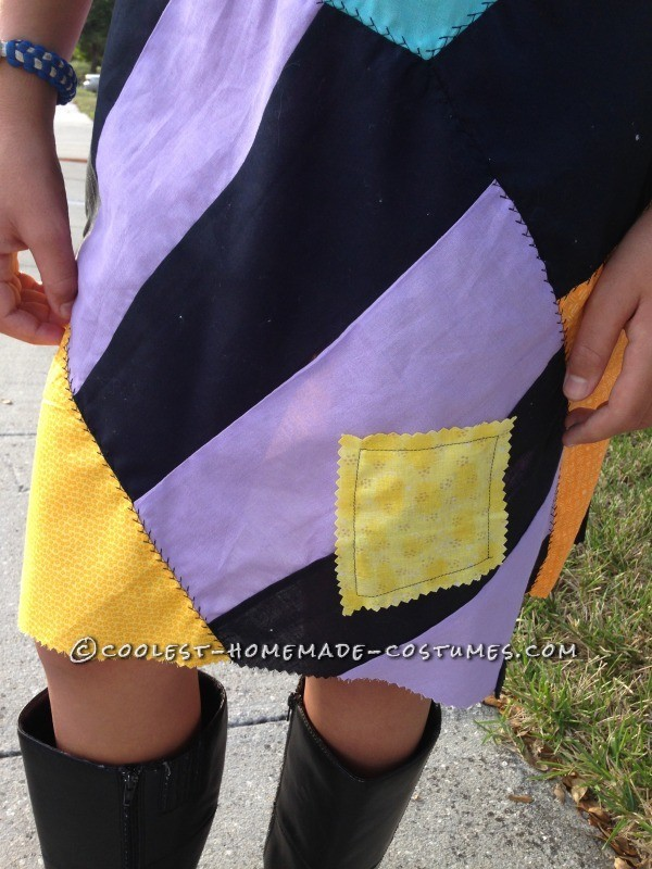 Cool Homemade Sally Costume (and Crocheted Jack Accessories)