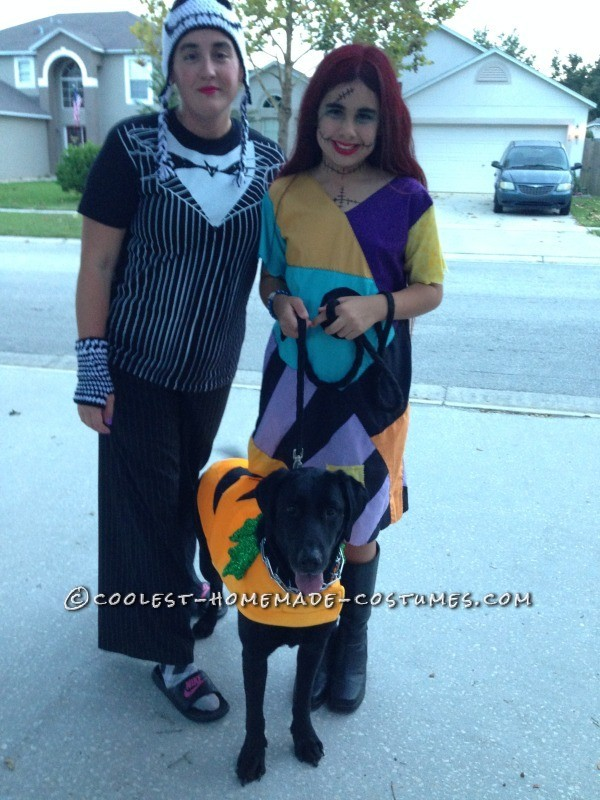 Cool Homemade Sally Costume (and Crocheted Jack Accessories) - 8