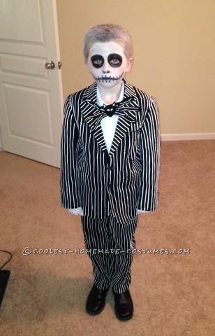 Cool Homemade Jack Skellington Costume from Nightmare Before Christmas