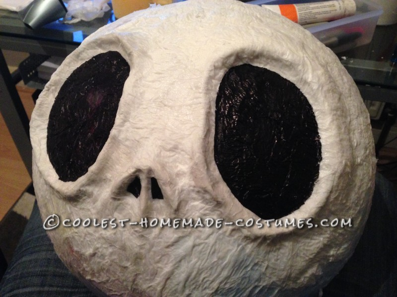 Cool Jack Skellington Homemade Mask and Costume - 8