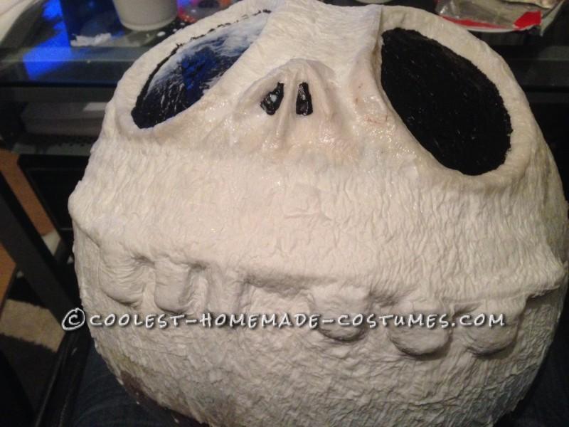 Cool Jack Skellington Homemade Mask and Costume - 1
