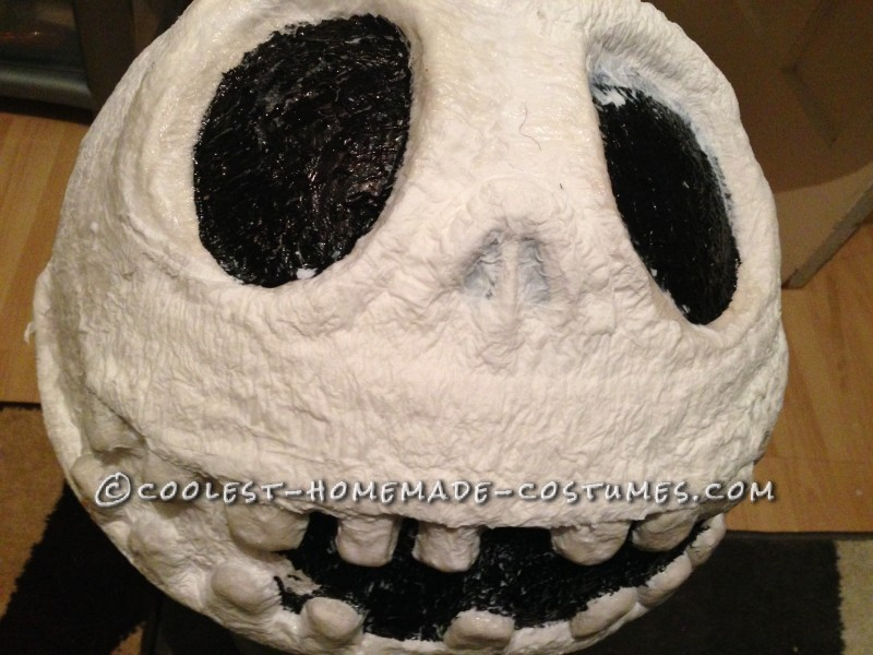 Cool Jack Skellington Homemade Mask and Costume - 3