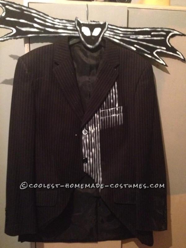 Cool Jack Skellington Homemade Mask and Costume - 7