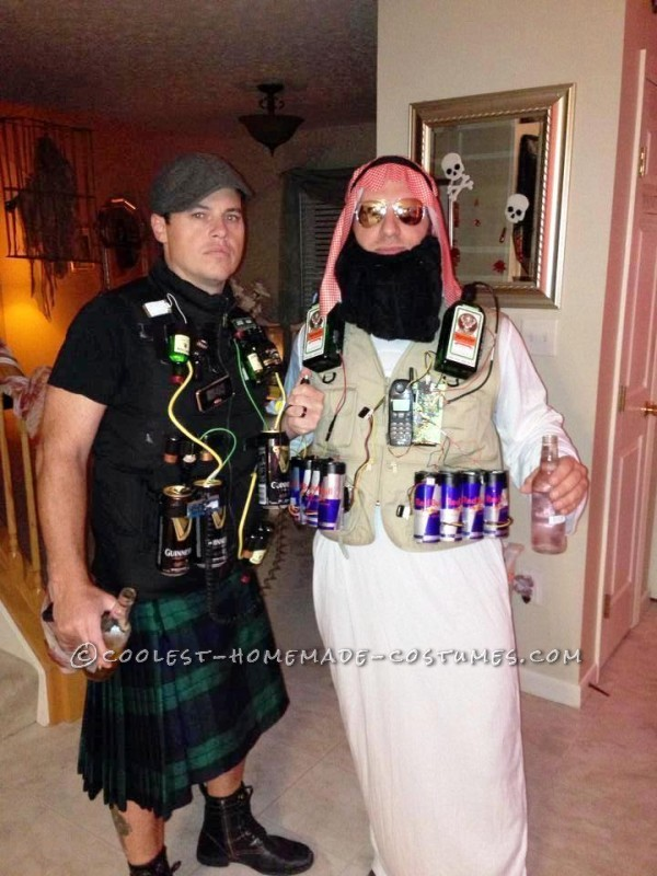 Jager Bomber and Irish Car Bomber Halloween Costumes
