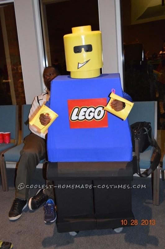 Jet: The not-so-mini Lego Minifigure