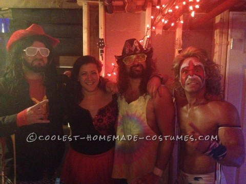 Coolest Homemade Ultimate Warrior Costume