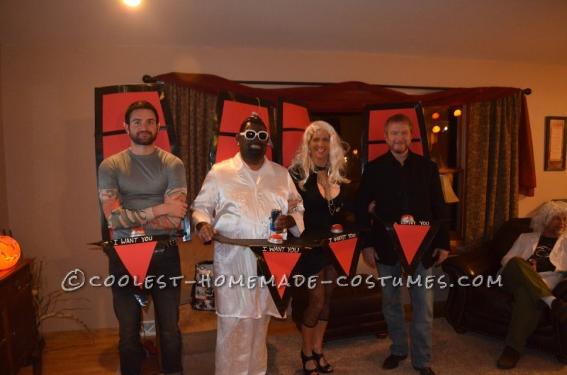 Judges from The Voice Group Halloween Costume