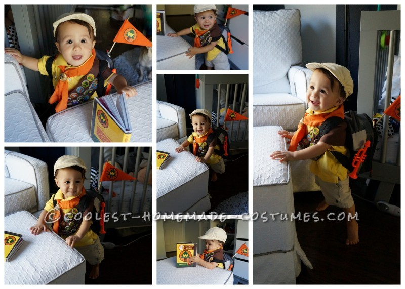 Cute Homemade Toddler Costume: Russell from UP!