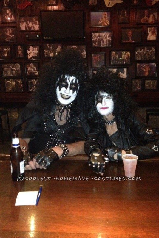 Cool KISS Couple Costume: Gene Simmons and Paul Stanley - 3