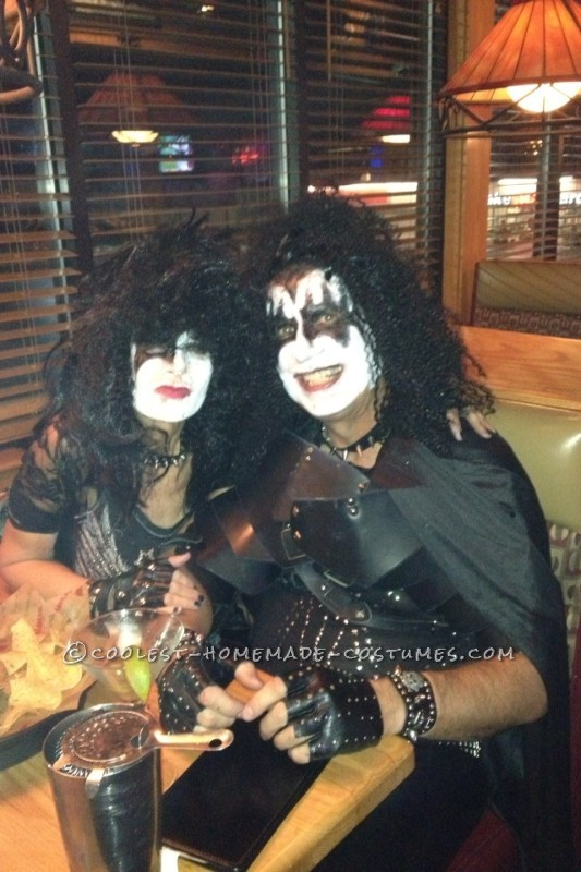 Cool KISS Couple Costume: Gene Simmons and Paul Stanley - 1