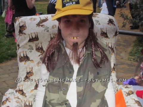 La-Z-Boy in a La-Z-Boy Costume