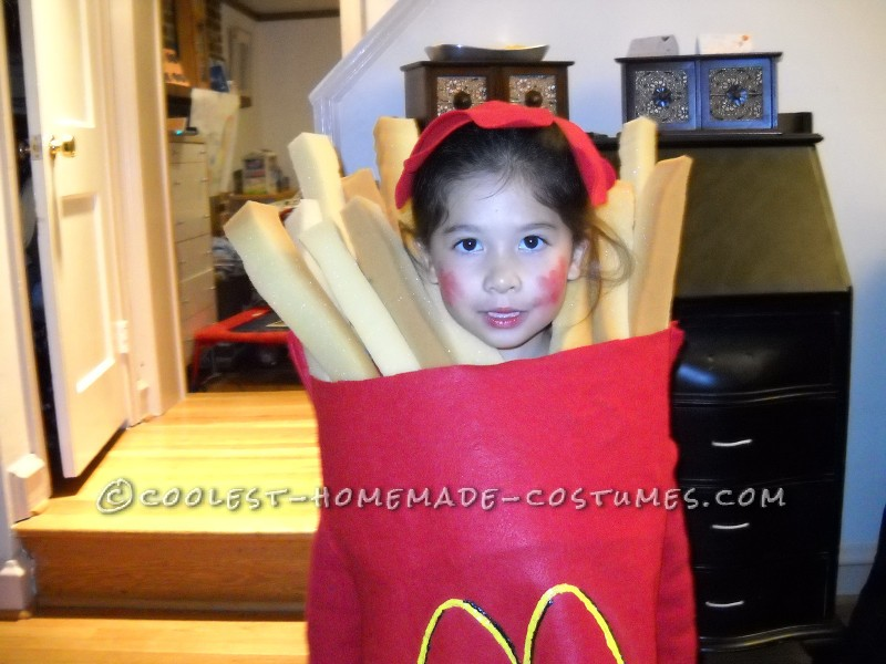 Cool Halloween Costume for a Child: Large Order of McDonald's French Fries - 2
