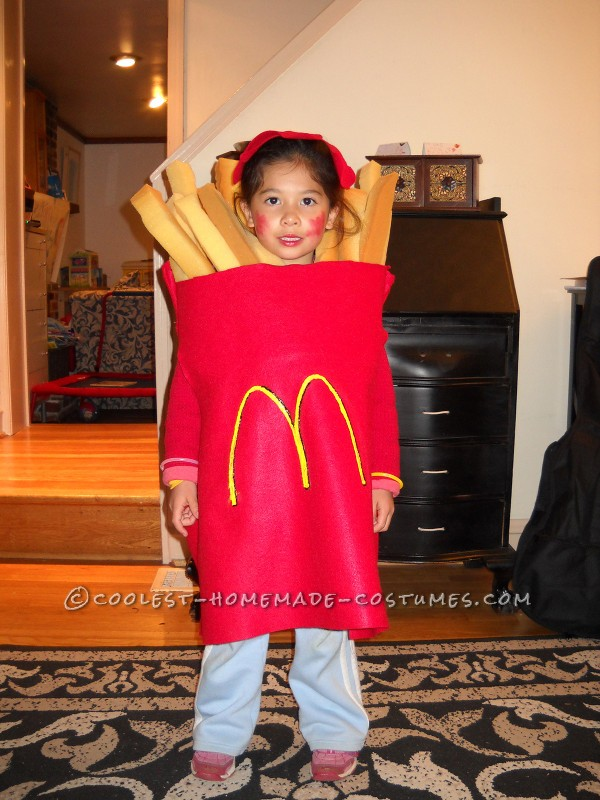 Cool Halloween Costume for a Child: Large Order of McDonald's French Fries - 1