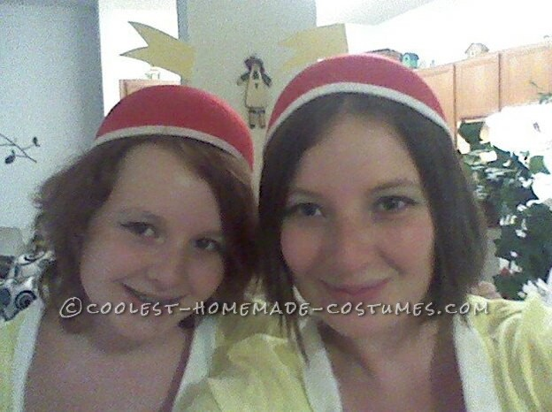 Last-Minute Tweedle Dee and Tweedle Dum Couple Costume