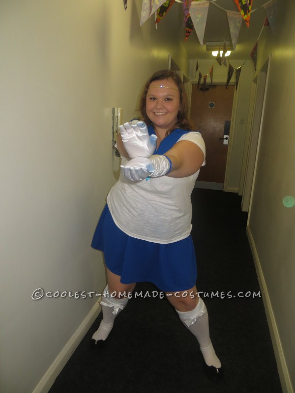 Last Minute, Easy Sailor Mercury Costume - 2