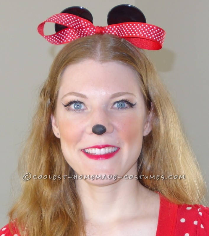 Last-Minute Minnie Mouse Costume