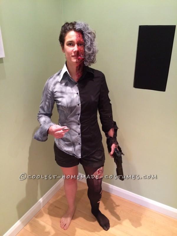 Last-Minute Women's Harvey Dent Costume - 3