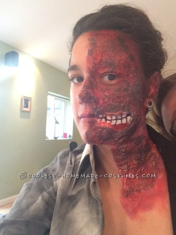 Last-Minute Women's Harvey Dent Costume