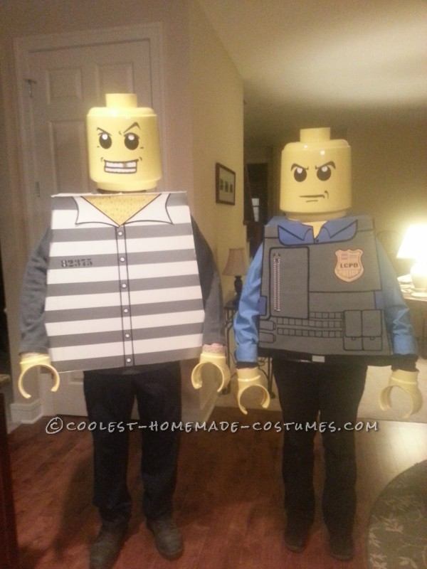 LEGO convict & police officer!