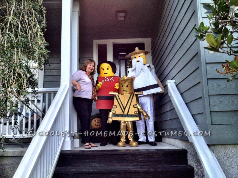 LEGO Ninjago Family Reaches Full Potential