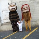 Where the Wild Things Are Family Costume: Let the Wild Rumpus Start!