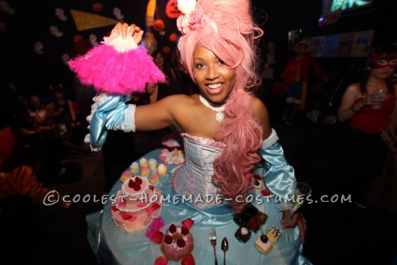 "Amazing Marie Antoinette Costume: ""Let Them Eat Cake!"""