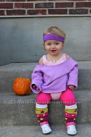 Cute Baby Aerobic Instructor Costume: Let's Get Physical, Physical!