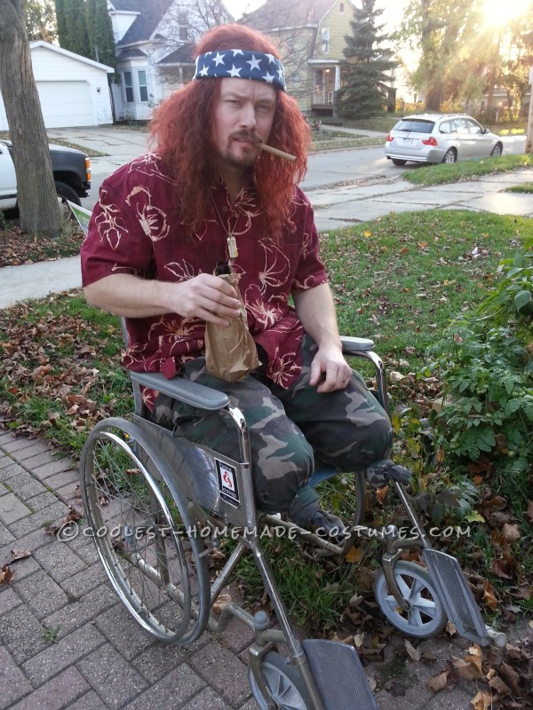 Excellent Lieutenant Dan Halloween Costume