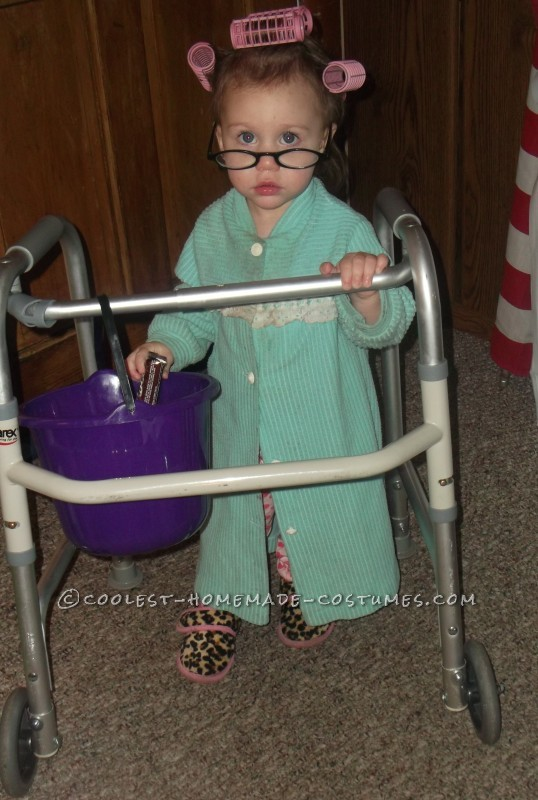Littlest Old Lady Costume for a Toddler