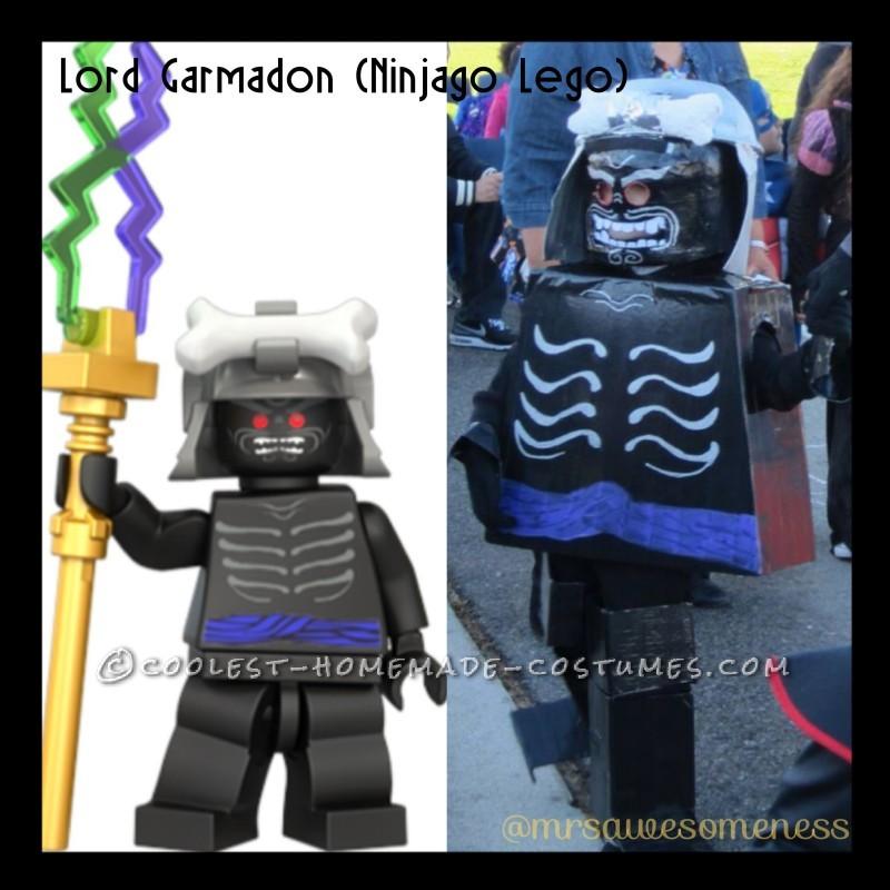 Cool Lord Garmadon LEGO Ninjago Halloween Costume for a Boy - 2