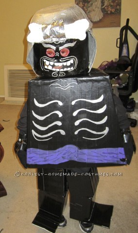 Cool Lord Garmadon LEGO Ninjago Halloween Costume for a Boy
