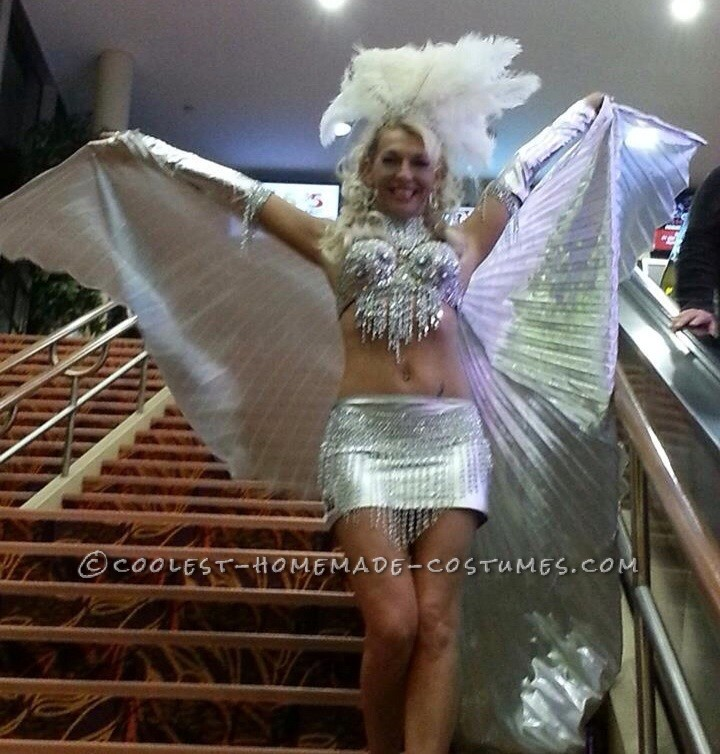 Sexy Homemade Las Vegas Showgirl Costume