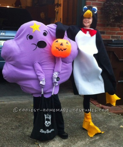 Coolest Homemade Lumpy Space Princess Costume from Adventure Time