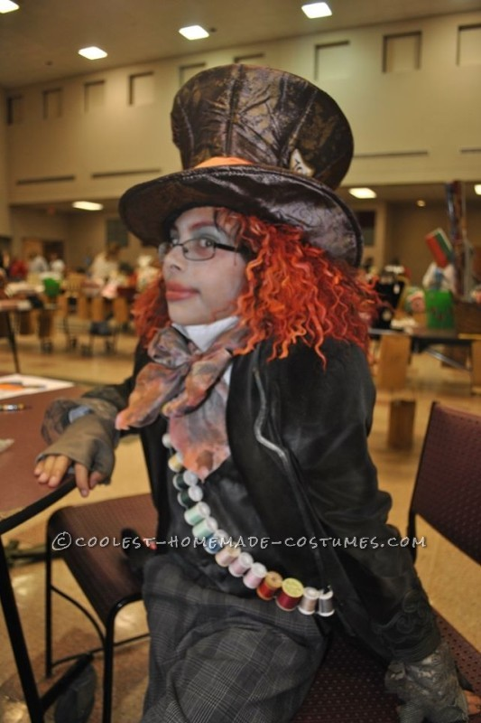 Prize-Winning Mad Hatter Costume for a Boy - 1