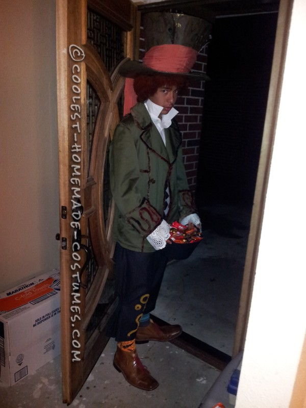 Coolest Homemade Mad Hatter Costume on a Budget! - 4