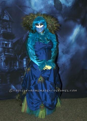 Elegant Madam Peacock Costume