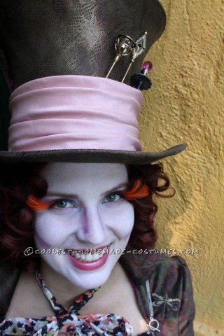 Beautiful Handmade Maddest of Hatters Costume for a Woman