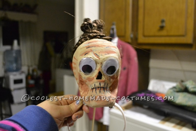 Awesome Beetlejuice, Lydia and Shrunken Head Group Costumes - 4