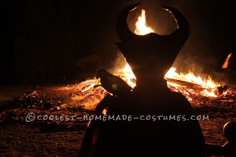 Cool Homemade Maleficent Costume - 3