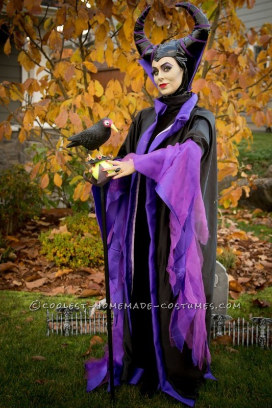 Cool Homemade Maleficent Costume - 1