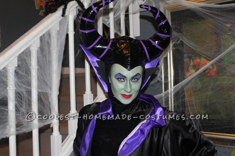 Cool Homemade Maleficent Costume - 2