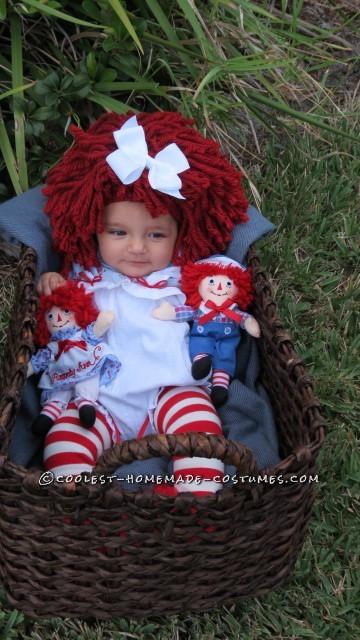 Mamas Little Baby Rag Doll Costume