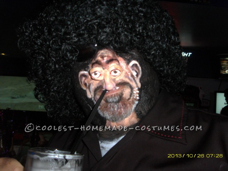 Hilarious Homemade Costume: Man with a Tiny Head